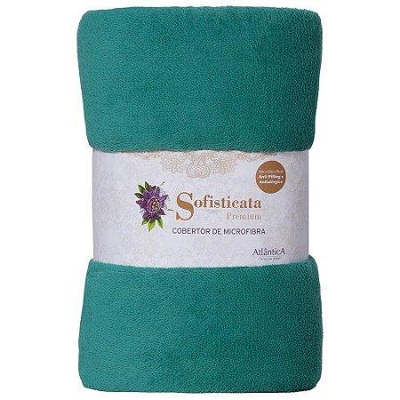 Manta Cobertor Sofisticata Casal Cipreste -  Atlantica