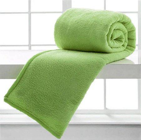 Manta Cobertor Sofisticata Casal Hortelã -  Atlantica
