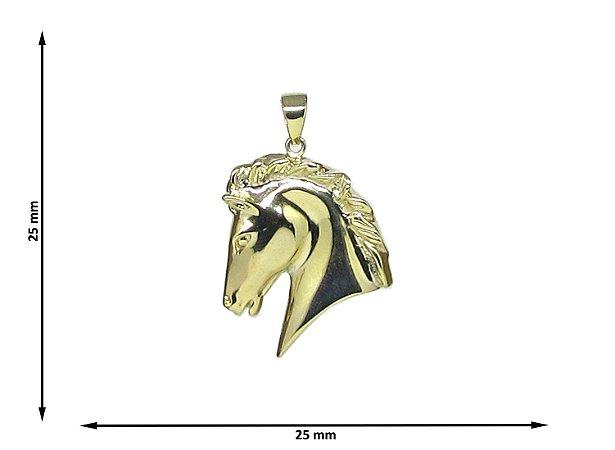Pingente  Cabeça Cavalo