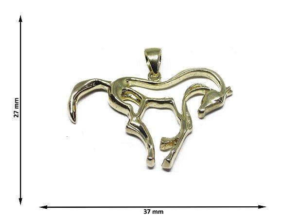 Pingente Cavalo Vazado