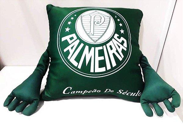 7054f3a5c9 ALMOFADA COM BRAÇOS PALMEIRAS - Futebollmania - Todo o site com até ...