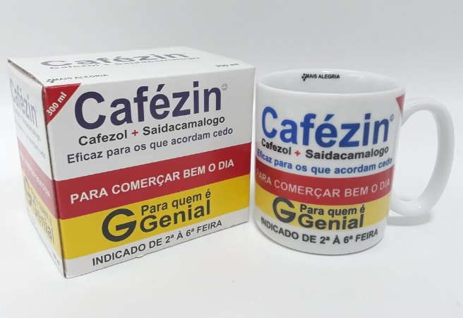 CANECA DE PORCELANA CAFEZIN