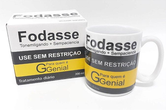 CANECA DE PORCELANA FODASSE