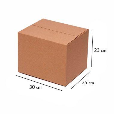 Caixa de Papelão para Sedex Correio e E-Commerce - C:30 x L:25 x A:23 cm (Kit c/ 25 unidades)