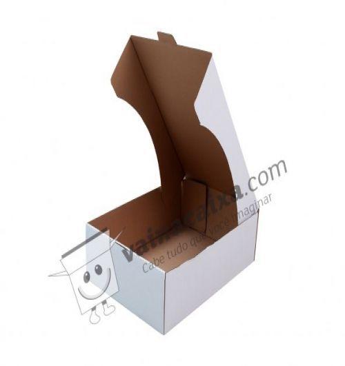 Caixa de Papelão para Bolos, Doces e Salgados 1 - C:33 x L:25 x A:7 (10 Peças R$2,52)