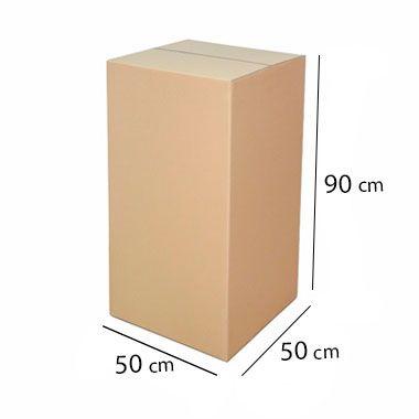 Caixa de Papelão para Campanha do Agasalho - C:50 x L:50 x A:90 cm (1 unidade)