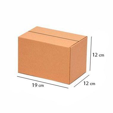 Caixa de Papelão Sedex Correio E-Commerce C:19 x L:12 x A:12 cm (Kit c/ 50 unidades)