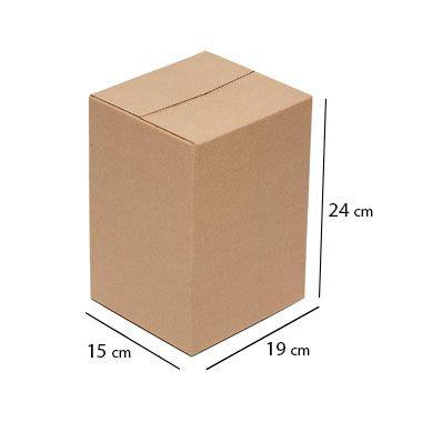 Caixa Papelão p/ Sedex Correio E-Commerce C:19 x L:15 x A:24 cm (Kit c/ 100 unidades)