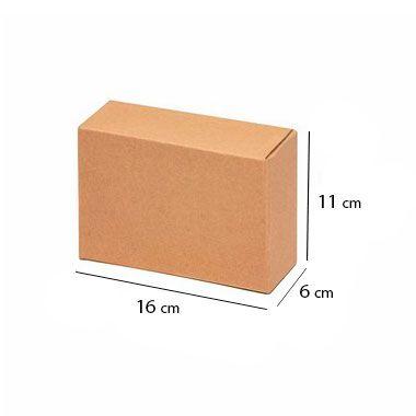 Caixa Papelão Sedex Correio E-Commerce C:16 x L:6 x A:11 cm (Kit c/ 50 unidades)