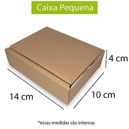 Caixa de Papelão para Sedex Correio e E-Commerce - C:14 x L:10 x A:4 cm  (Kit c/ 200 unidades)