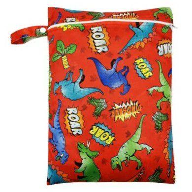 Sacola Impermeável - Sacola para fraldas sujas ou roupas molhadas - Com 1 bolso