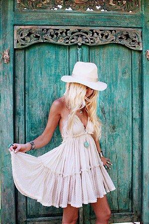 Vestido Feminino Boêmio Boho Chic Divo