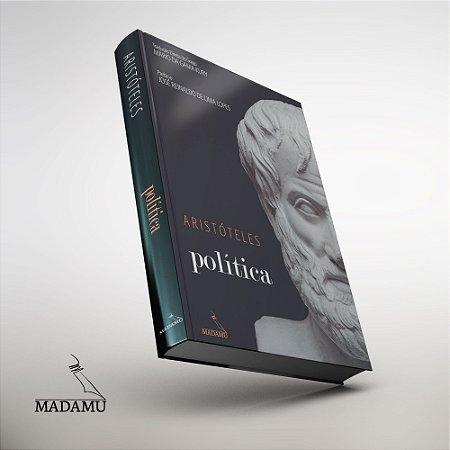 Livro Política - Aristóteles - CAPA DURA - tradução direta do grego por Mário da Gama Kury