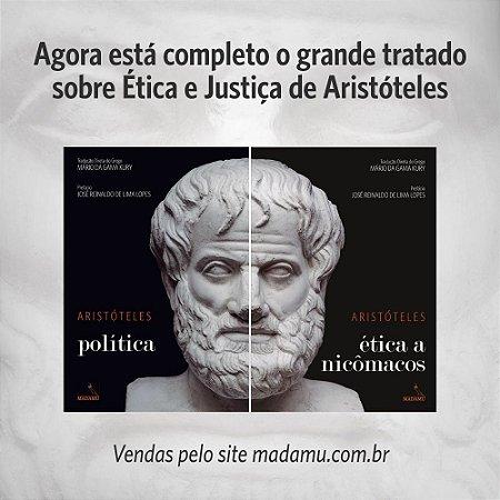 COMBO - CAPA DURA - Política + Ética a Nicômacos - Aristóteles   Tradução direta do grego por Mário da Gama Kury