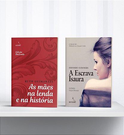 COMBO - Livros de Letras Grandes: A escrava Isaura + As mães na lenda e na história