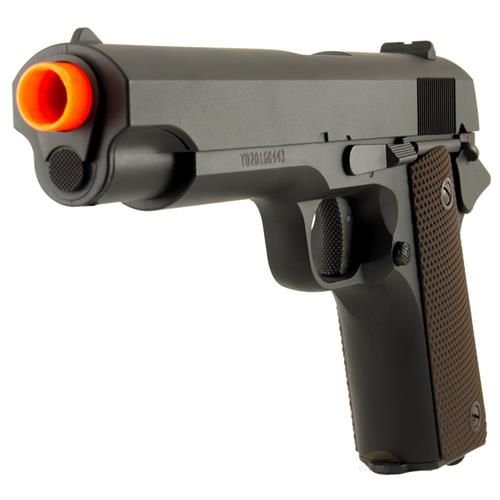 Pistola Arma de Airsoft AEP Elétrica Cyma CM 123 Colt M1911