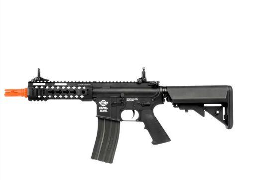 Fuzil Rifle Arma de Airsoft Elétrica G&G CM16 300 Bot