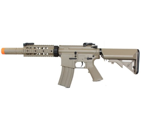 Fuzil Rifle Arma de Airsoft Elétrica Cyma CM 513 Desert Tan