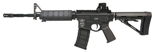 Fuzil Rifle Arma de Airsoft Elétrica Bolt B4A1 Elite DX com Blowback e Recuo