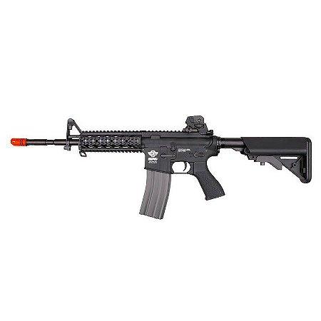 Fuzil Rifle Arma de Airsoft Elétrica G&G CM16 Raider L