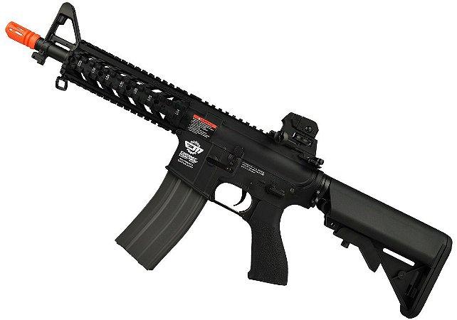 Fuzil Rifle Arma de Airsoft Elétrica G&G CM16 Raider