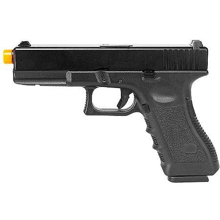Pistola Airsoft GBB Gas Blowback Army Armament Glock G17 R-17 Preto