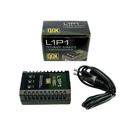 Carregador de Bateria Lipo Inteligente Compacto QGK L1P1