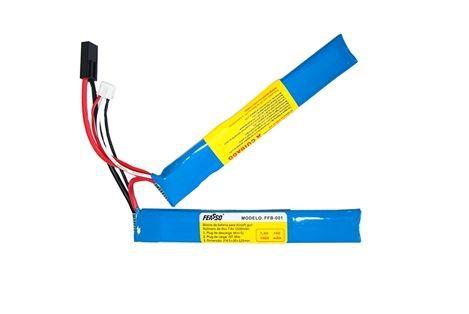 Kit bateria + carregador LiPo + Bbs SRC .20