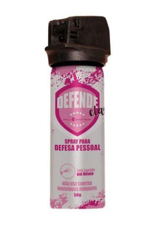 Spray de Defesa Pessoal Defende Ela