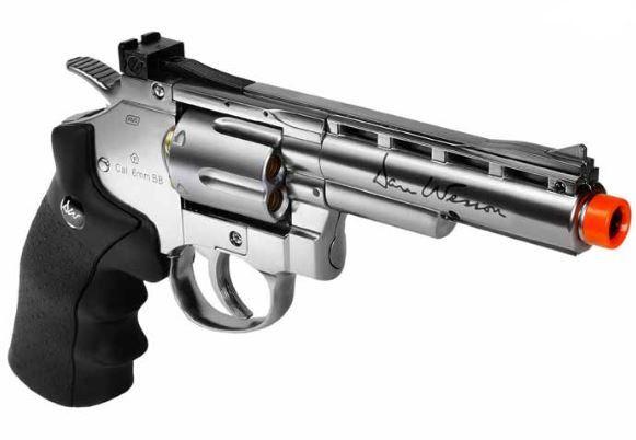 Revolver de Airsoft Dan Wesson 4'' Co2 Full Metal