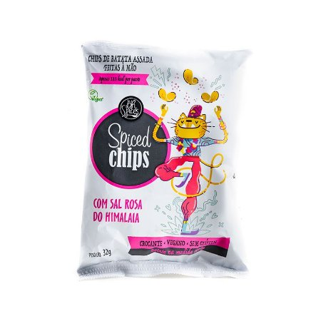 Spiced Chips Sal Rosa do Himalaia
