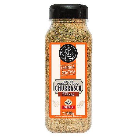 Sal de Parrilla para Churrasco para Carnes - 900g