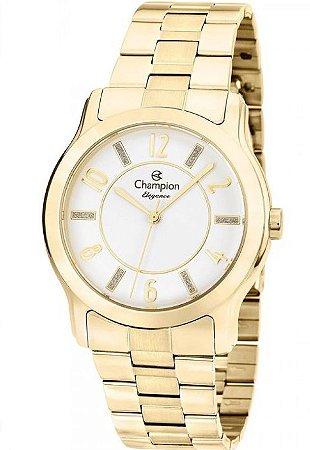 Relógio Champion Dourado Feminino CN26420