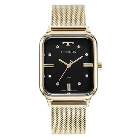 Relógio Technos Feminino Dourado 2039CQ/1P Style