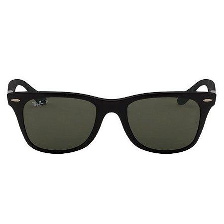 Óculos Solar Ray-Ban Liteforce Polarizado - Preto Fosco RB4195/52 - 601S/9A