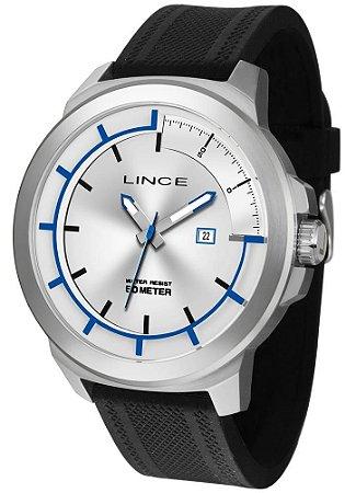 Relógio Lince Masculino Mrph054s S1px Casual Prateado