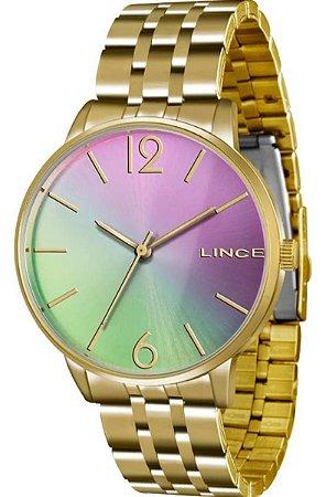 Relógio Lince Feminino mostrador colorido LRG606LQ2KX