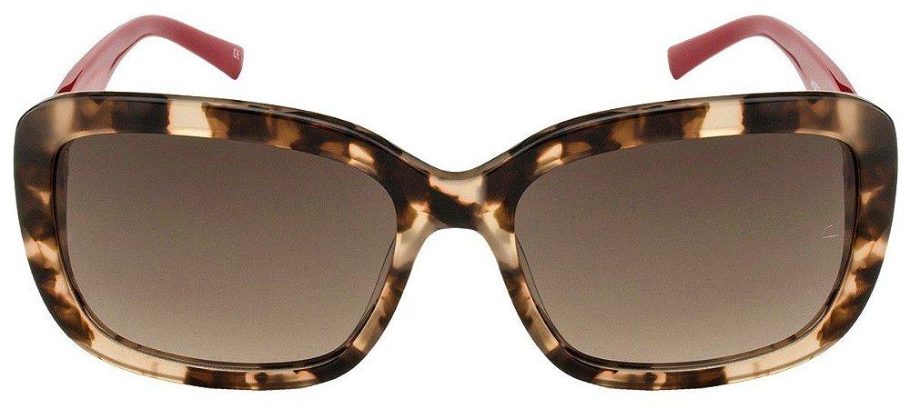 Óculos de Sol Ana Hickmann - Tartaruga/Vermelho AH9217