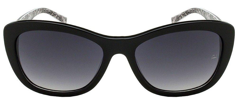 Óculos de Sol Ana Hickmann Preto/Cinza AH9219