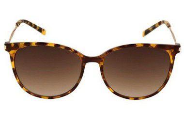 Óculos de Sol Feminino Ana Hickmann Tartaruga Lente Marrom
