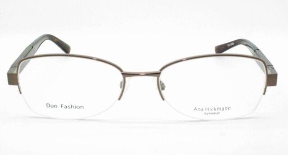 Armação Ana Hickmann Marrom Duo Fashion Feminina AH128401B5317135