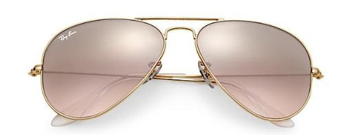 Ray Ban 3025l Lente Degrade Rose Claro