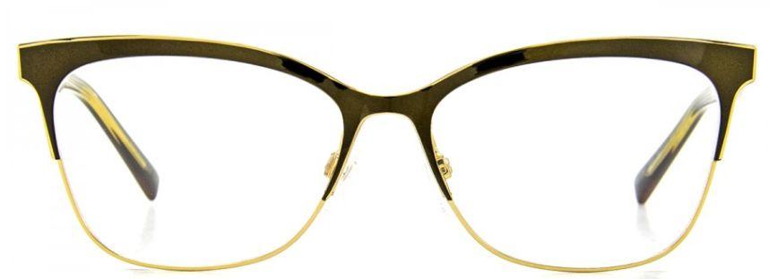 Armação de Óculos Ana Hickmann Ah1347 Dourado Espelhado
