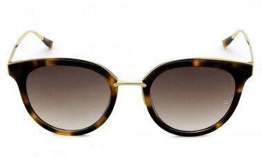 Óculos de Sol Ana Hickmann Tartaruga Dourado