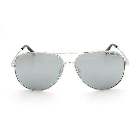 Óculos de Sol Michael Kors Feminino Aviador Prata MK5016