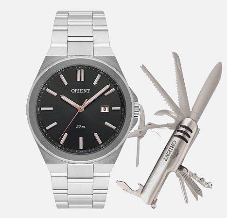 Kit Relógio Masculino Orient MBSS1333 KF71G1SX