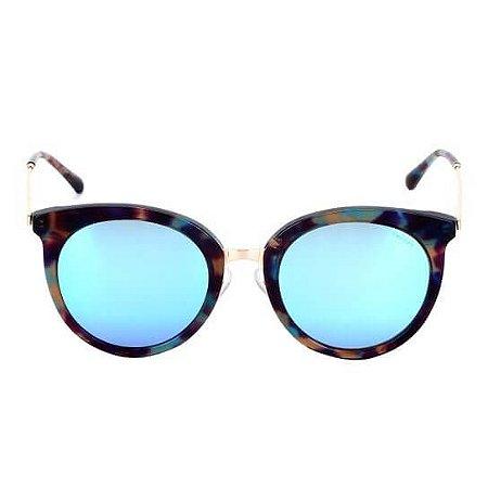 Óculos de Sol Colcci Feminino Azul espelhado C0075