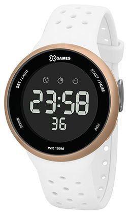 Relógio X-Games Feminino Bracno com Caixa Rosé XFPPD059