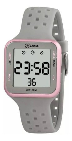 Relógio Feminino Digital Quadrado X Games XLPPD034