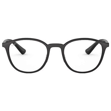 Óculos Ray Ban Preto Fosco RB7156